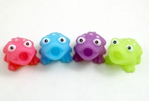 Griptight - Bath Toys (4 Tropical Frog Squirters)